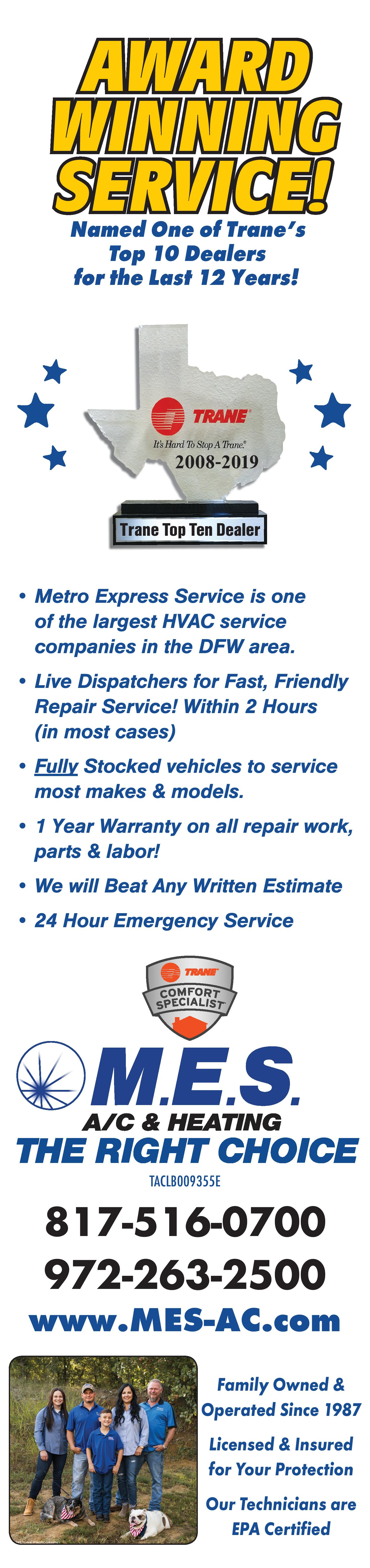 Award Winning HVAC Services