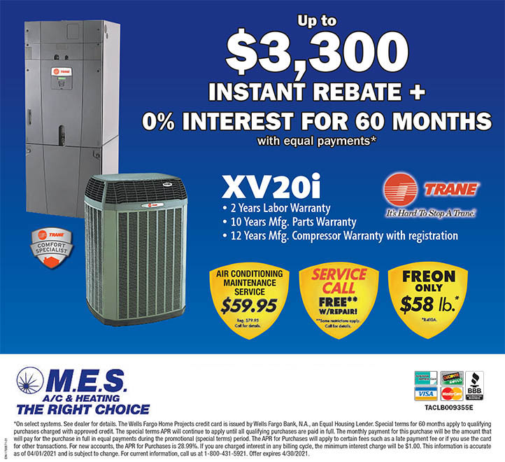 Air Conditioning & Heating Specials & Coupons