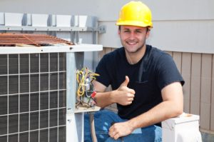 Air conditioning and heating repair in Flower Mound technician
