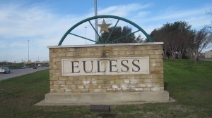 Euless Texas marker