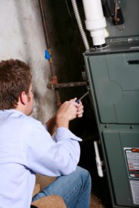 air conditioning and heating repair in Irving technician