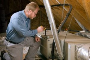 Inspect an HVAC Unit