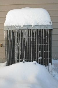 why is my ac unit freezing up